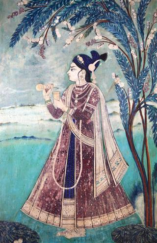 Indian Maharaja Mural