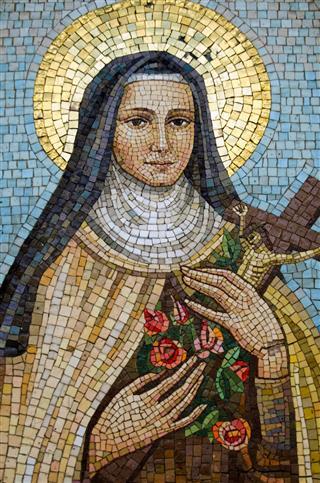 Mary Mosaic Venice