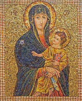 Mosaic Of Madonna