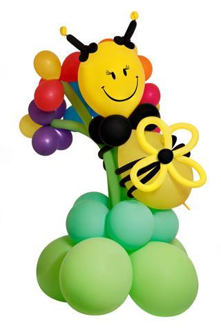 Balloon Bee On A Flower