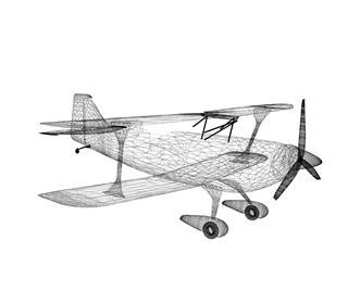Retro Airplane