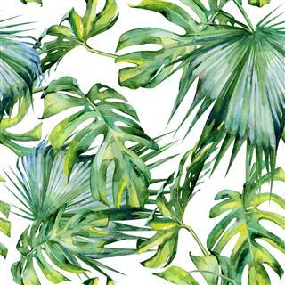 Seamless Watercolor Illustration
