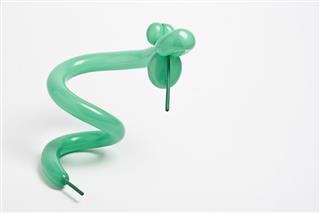 Green Balloon Snake