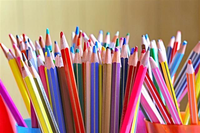 Many Pencils In Kindergarten Class