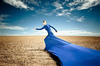 The Right Stuff Surreal Fashion Portrait