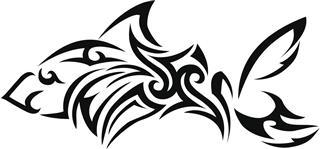 Tribal Shark Design Pattern