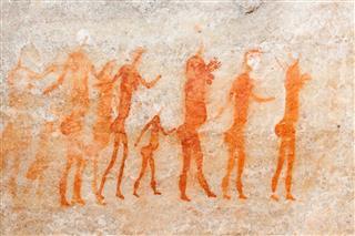 Bushman Cave Painting