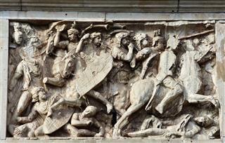 Roman Cavalry Tramples