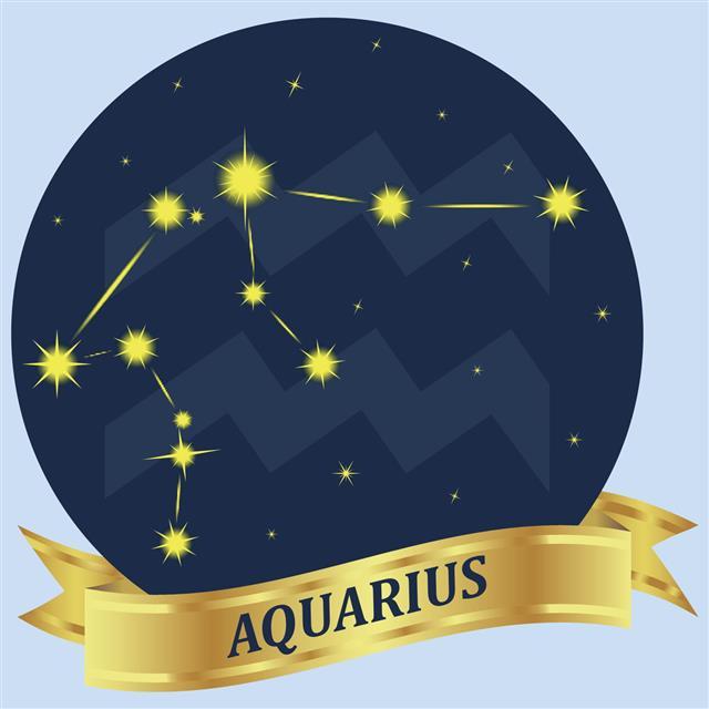 Aquarius Constellation And Zodiac Sign