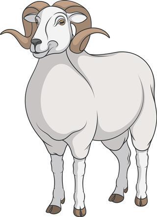 Ram aries symbol