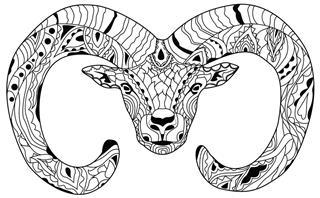 black ram symbol