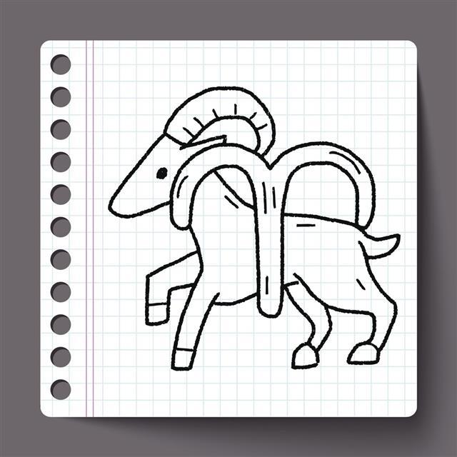 Aries doodle