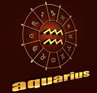 Astrology symbol aquarius