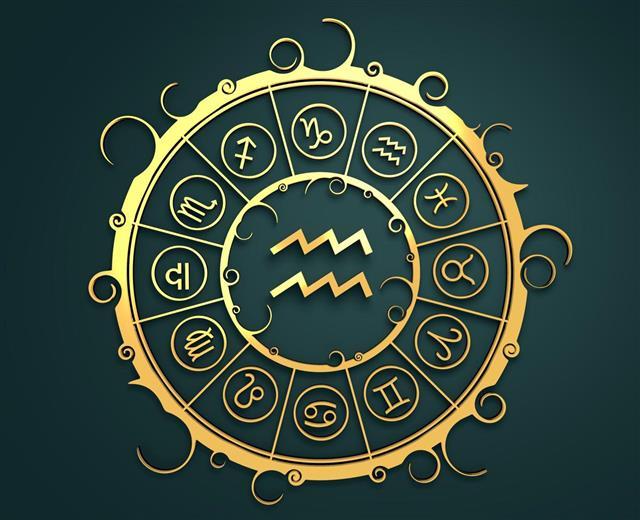 Astrology water bearer sign