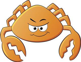 Crab zodiac symbol