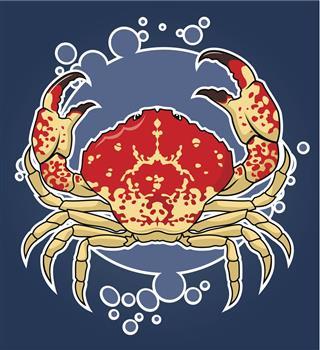 Crab zodiac sign