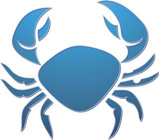 Cancer Zodiac Crab Symbol