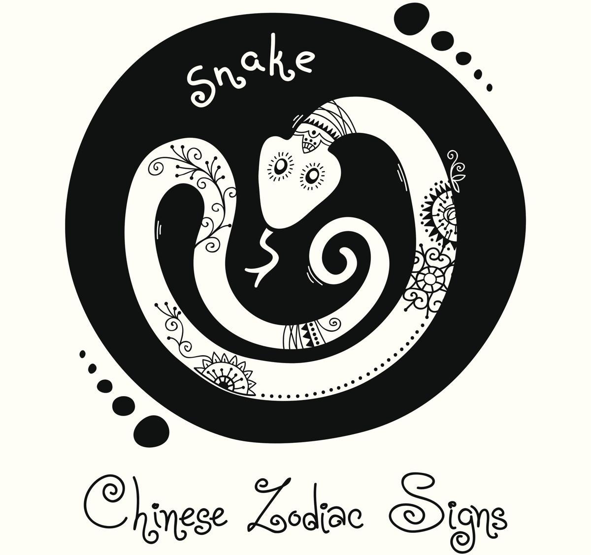 Chinese Zodiac Sign - Snake