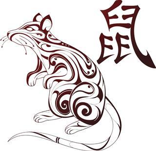 Chinese zodiac symbol rat