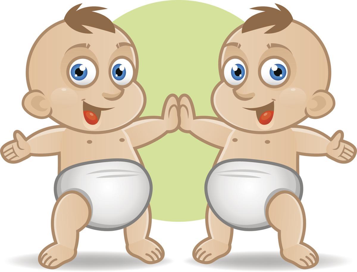 Открытки с днем рождения 6 месяцев двойняшкам