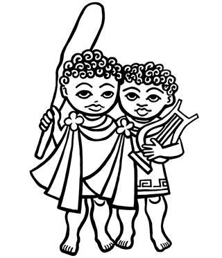 Zodiac gemini twins