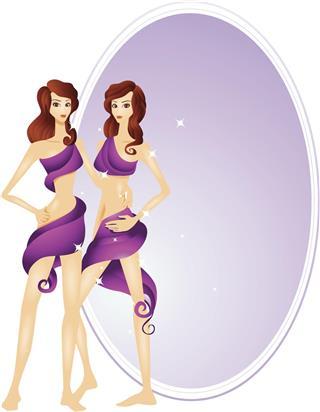 Twins gemini zodiac symbol