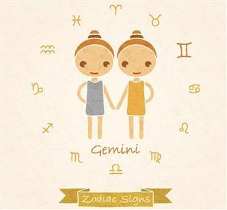 Twins gemini zodiac sign