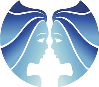 Astrology symbol gemini