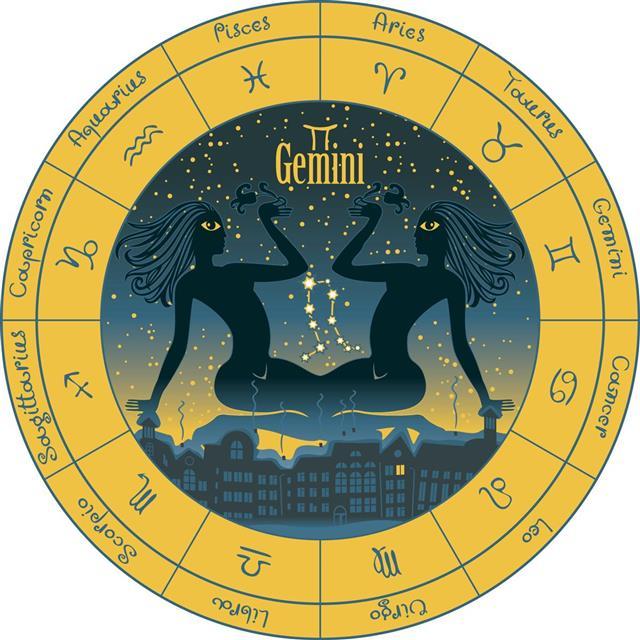 Astrology gemini symbol