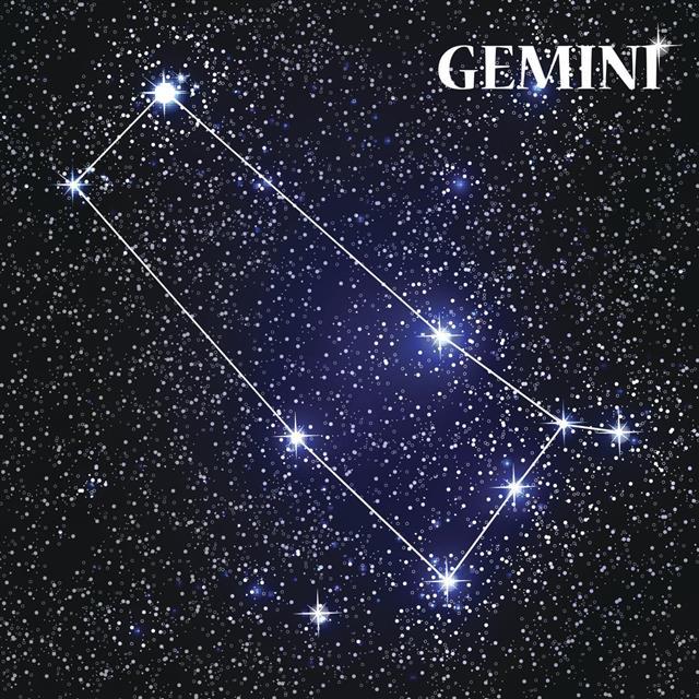 Gemini constellation in space