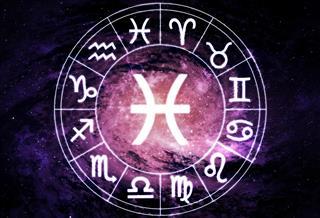 Pisces horoscope circle