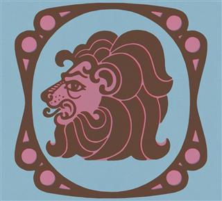 Lion Zodiac Symbol
