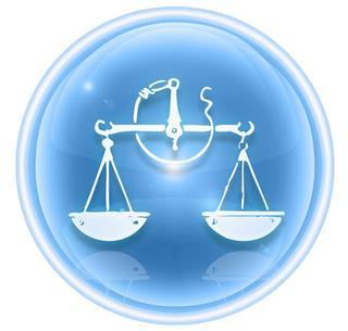 Libra zodiac symbol