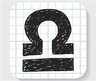 Horoscope symbol libra
