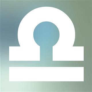 Symbol of libra