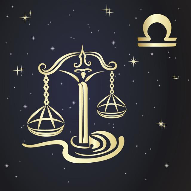 Zodiac Libra Is The Starry Sky