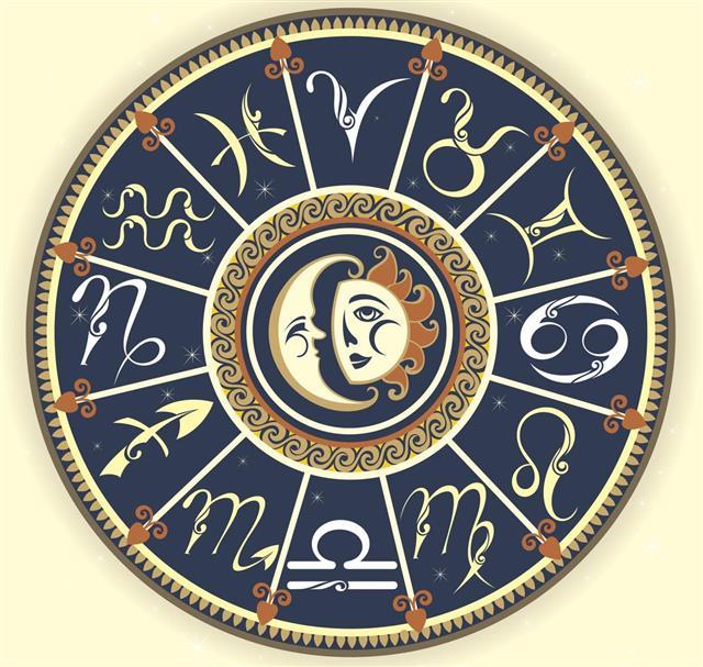 Set Of Zodiac Sign