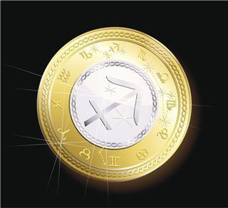 Coin Zodiac Sagittarius