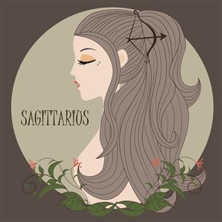 Zodiac Girl Sagittarius