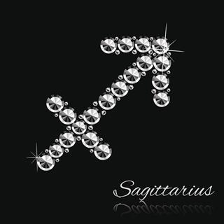 Zodiac Sign Made Of Diamonds