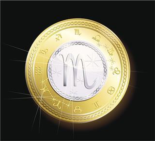 Coin Zodiac Scorpio