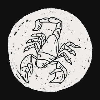 Scorpion Doodle