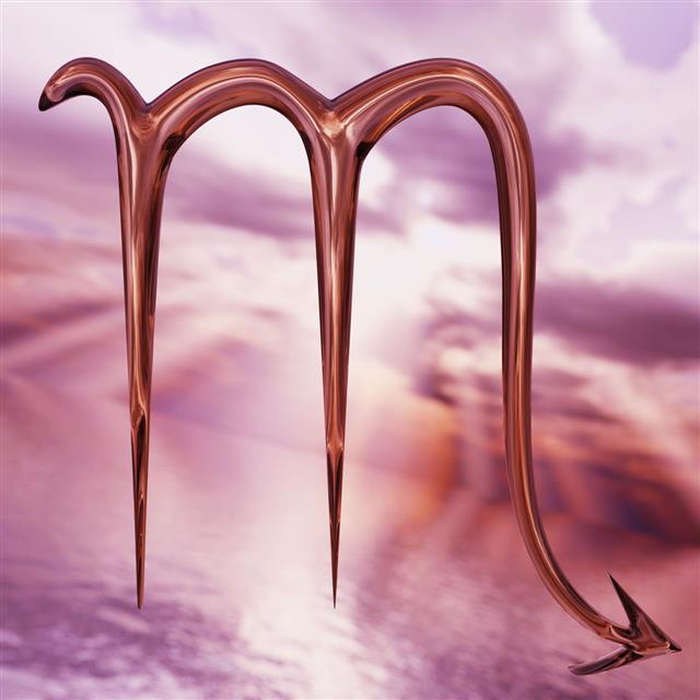 Brilliant Zodiac Horoscope Scorpio Symbol