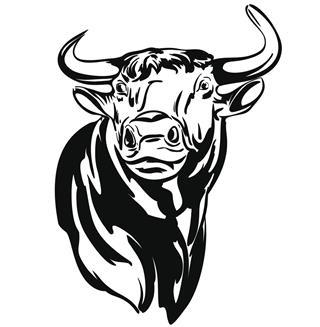 Bull horoscope symbol