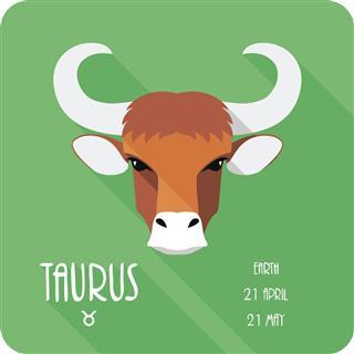 Bull Zodiac Symbol