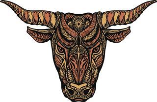 Bull taurus symbol