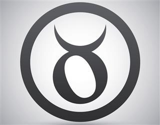 Zodiac symbol taurus