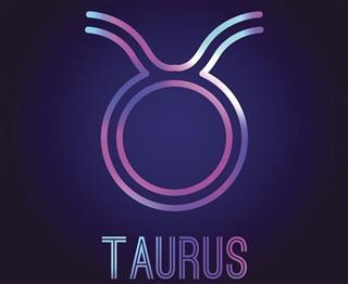 Astrology taurus symbol