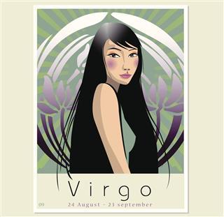 Virgo horoscope symbol