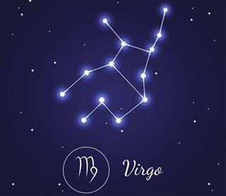 Virgo zodiac sign and constellation